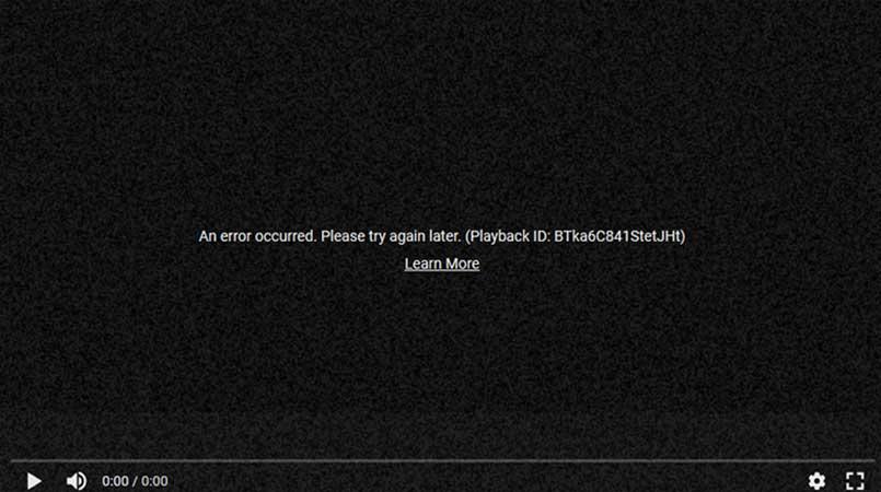 Temporary Youtube